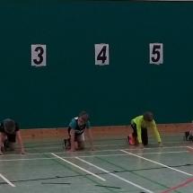 Hallensportfest Langgöns - U10er zeigen ihre Klasse