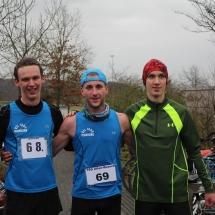 Winterlaufserie Alten-Buseck - Clemens gewinnt über 5km