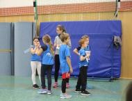 Schülerhallensportfest Wallau - Große Teilnehmerfelder mit 13 VfLern