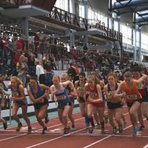 Hessische Meisterschaften U20 und Aktive - Taktische Rennen für Lena
