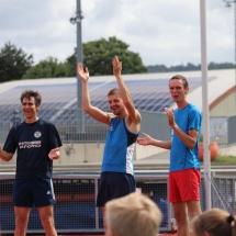 Sportabzeichentag 2019 - große Gruppe am letzten Ferien-Samstag