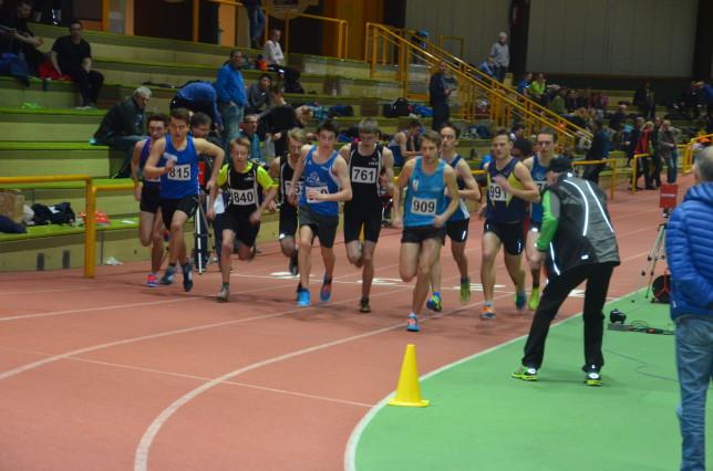 Regionshallenmeisterschaften 2016 Start 1500