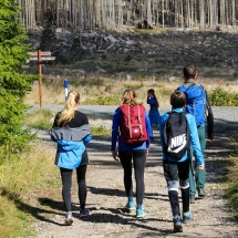 Trainingslager Schierke - neue Wege  im Harz