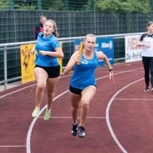 Sprint- und Hochsprungmeeeting Borken - drei VfL-Staffeln am Start