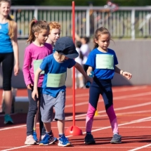 Kinderleichtathletik Wettkampf Marburg - Saisonabschluss mit über 70 Kindern