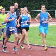Zwei Starts - einmal erster, einmal zweiter Platz beim Stadtlauf in Treysa
