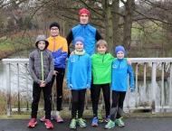 Winterlaufserie Pohlheim - Schmuddelwetter und schnelle Kids