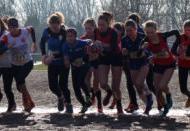 Hessische Crosslaufmeisterschaften Trebur - Lena wird Vizemeisterin