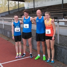Regionsmeisterschaften Langstrecke - Dünne Starterfelder in Hünfeld