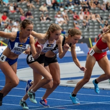 DM 2019 - Julia im Olympiastadion dabei