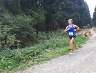 Hessische Meisterschaften Berglauf - Lena kämpft sich auf Platz 5