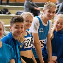 Kreishallenmeisterschaften - VfL mit elf  Athleten am Start