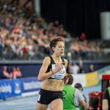 Deutsche Hallenmeisterschaften - Julia sammelt weiter Erfahrung
