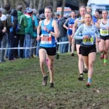 Deutsche Meisterschaften Crosslauf - Lena starke Sechste bei Schlammschlacht