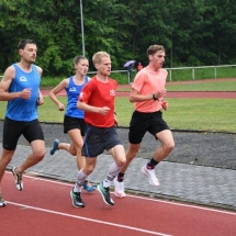 5000m Testlauf Wetter