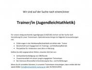 Neue Trainer gesucht