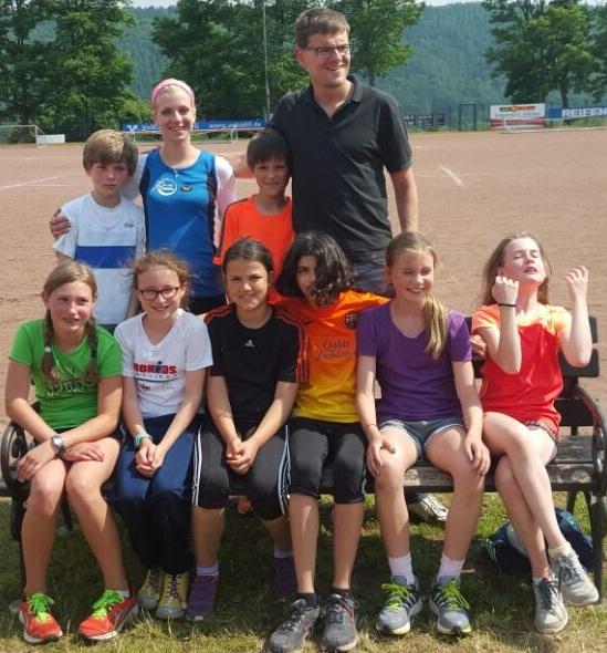 Mannschaft Lahn-Dill-Meisterschaften der U14 2015