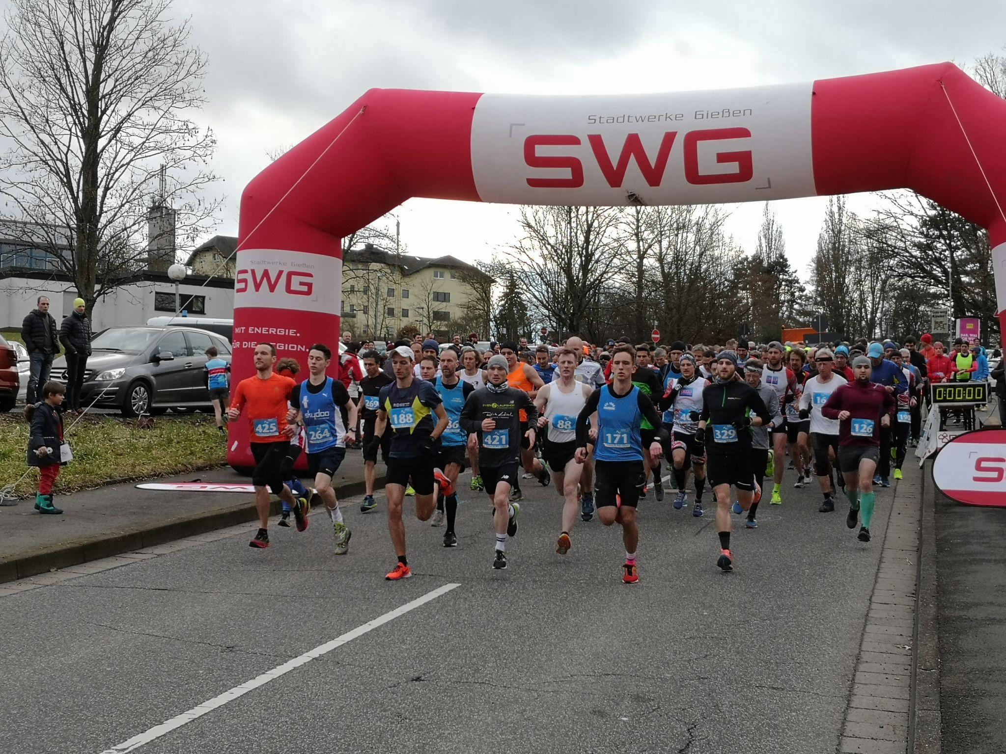 Start 15km WLS Pohlheim  Clemens VfL 1860 Marburg