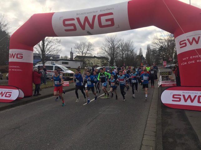 WLS Pohlheim Start 5km Januar 2020